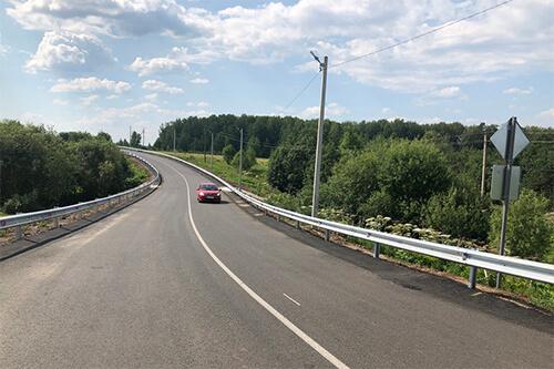 В Пермском крае отремонтировали дорогу к селу Башкултаево