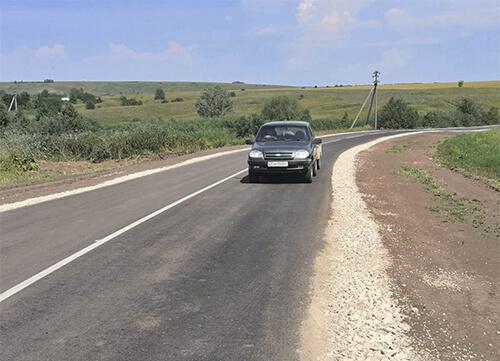 Подъезд к селу Малое Мурашкино отремонтировали раньше установленного срока
