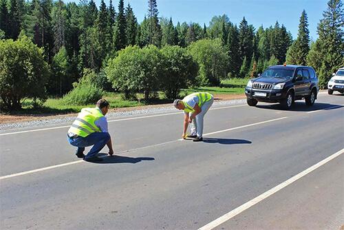 В Удмуртии отремонтировали участок трассы Якшур-Бодья — Шаркан