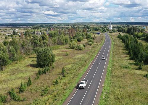 В Ярославской области отремонтировали трассу Владимир — Переславль-Залесский
