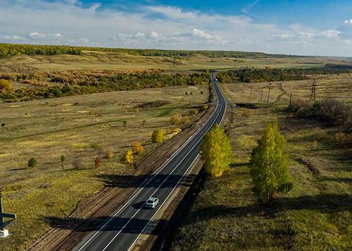 В Самарской области завершили ремонт одной из самых протяженных трасс