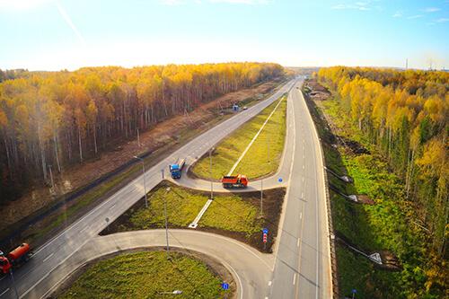 В Прикамье завершился третий этап реконструкции трассы Кунгур — Соликамск