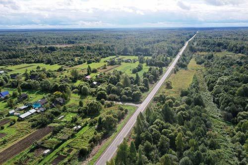 В Тверской области отремонтирована дорога Тверь — Ильинское