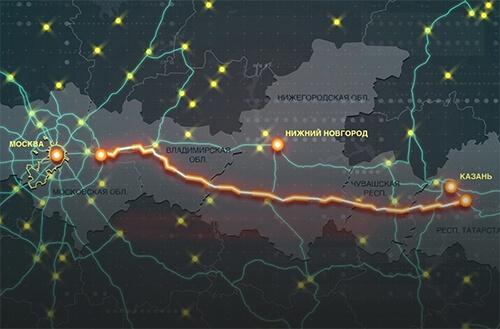 В Нижегородской области стартовало строительство трассы М-12