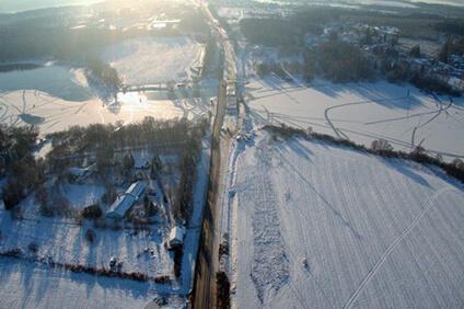 Запущено движение по новому мосту через Вейну на трассе А-108