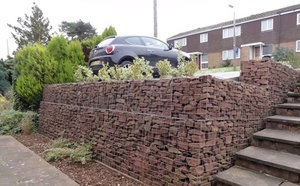 Материал для подпорных стен